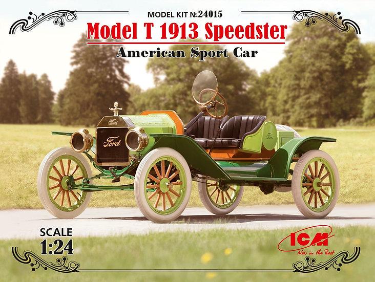 ICM 24015 Model T 1913 Speedster,American Sport Car Maquette