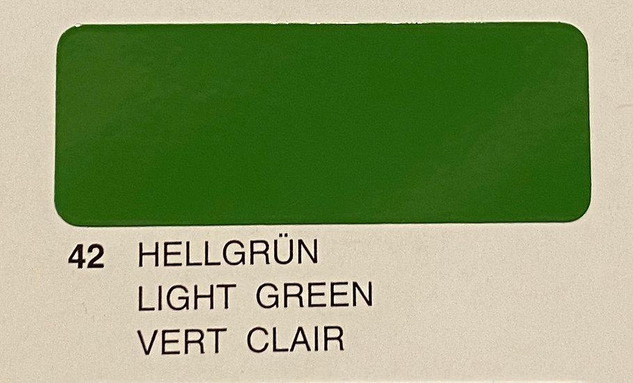 Oracover couleurs standard vert clair 42