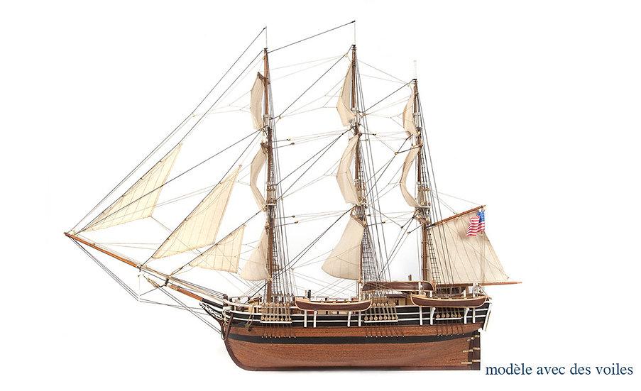 Maquette de bateau à construire ESSEX  au 1/60 de OCCRE 12006