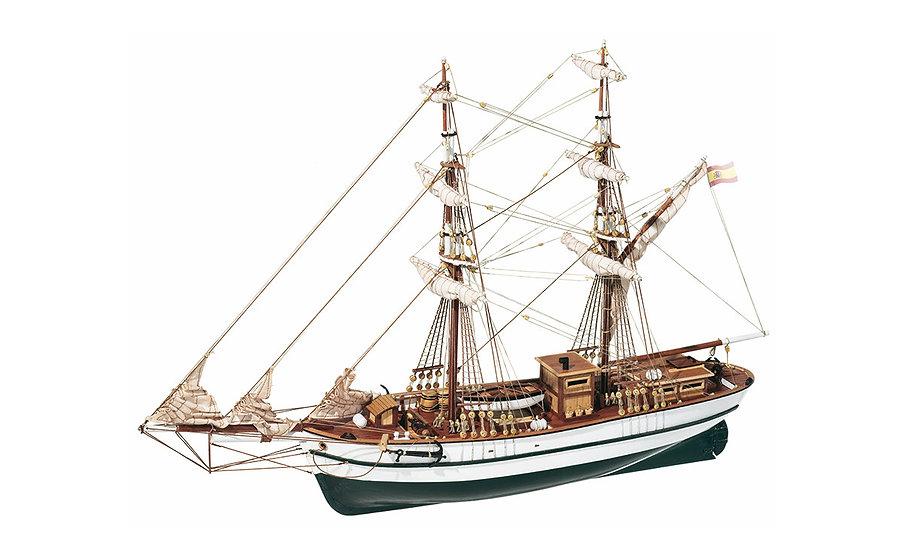 Brigantin AURORA de OCCRE 13001 maquette de bateau en bois a construire