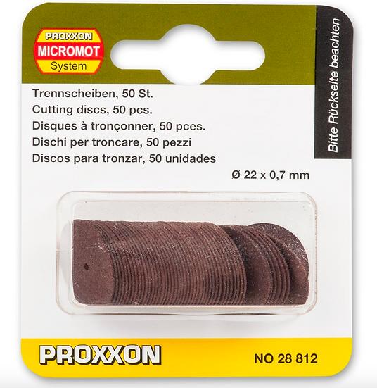 Proxxon Disque de tronçonner, 50 pces 22x0,7mm