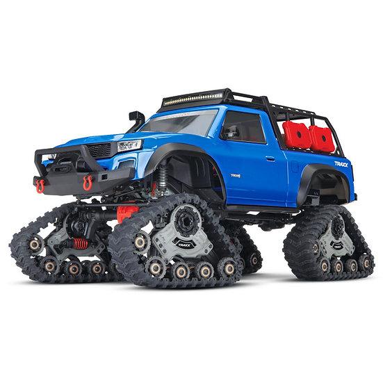 CRAWLER TRX-4 a/TRXX 1:10 4WD EP RTR BLEU