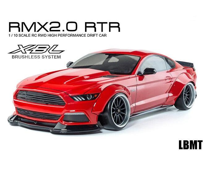 MST voiture drift RMX 2.0 RTR LBMT (rouge) brushless 1:10 MST533720R