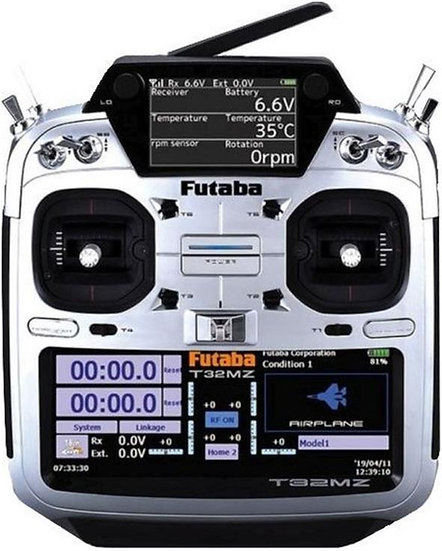 Futaba T32MZ-R7108SB FASSTest 2.4GHz