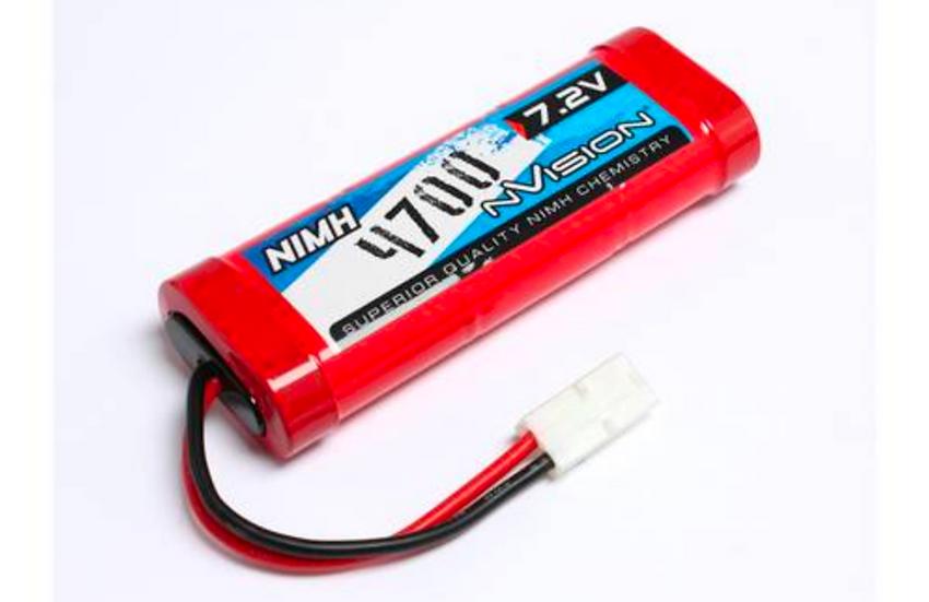 Nvision NiMH 4700 7,2V Stick w/Deans Plug 14 AWG