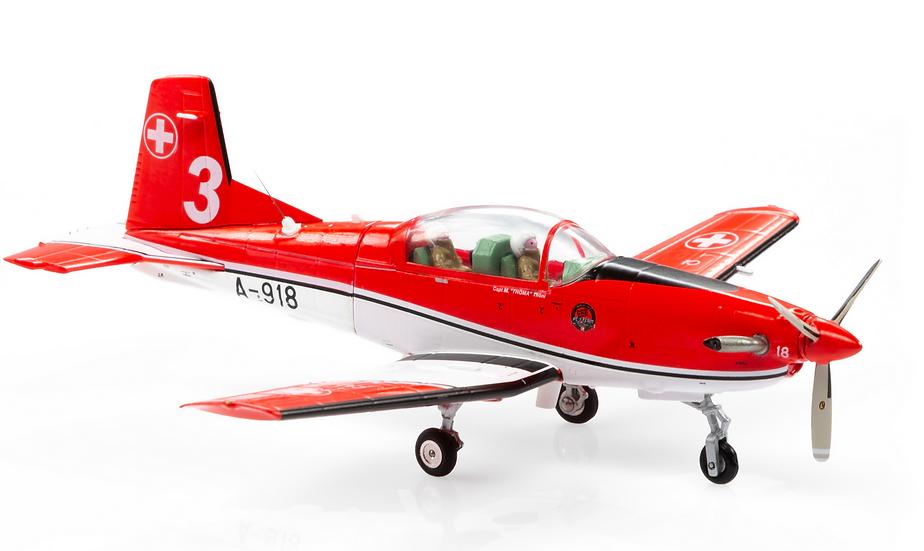 ACE collectors edition Pilatus PC-7 A-918 PC-7-Team Nr.3 1:72