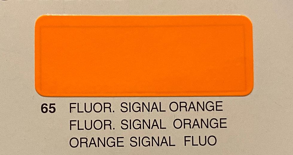 Oracover couleurs standard orange signal fluo 65