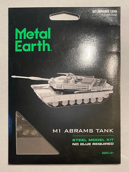 Metal Earth M1 Abrams Tank
