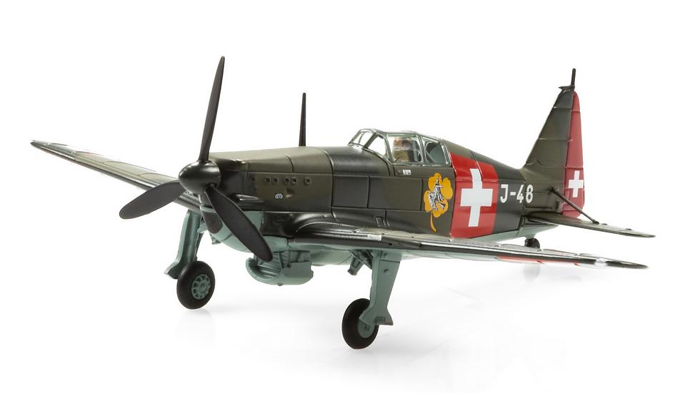 "ACE collectors edition Morane D-3800 J-48 ""Hexe"" (1940) Métal 1:72"