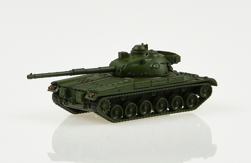 ACE collectors edition Kampfpanzer Pz 68 Feldgrün en Plastqiue 1:87