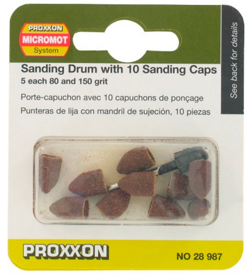 Proxxon Porte -capuchon avec 10 capuches, 9x13mm