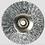 Proxxon Brossse circulaires acier 22 mm, 5 pces