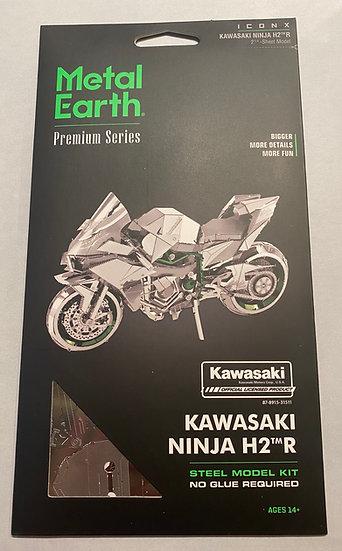 Metal Earth Kwasaki Ninja H2R