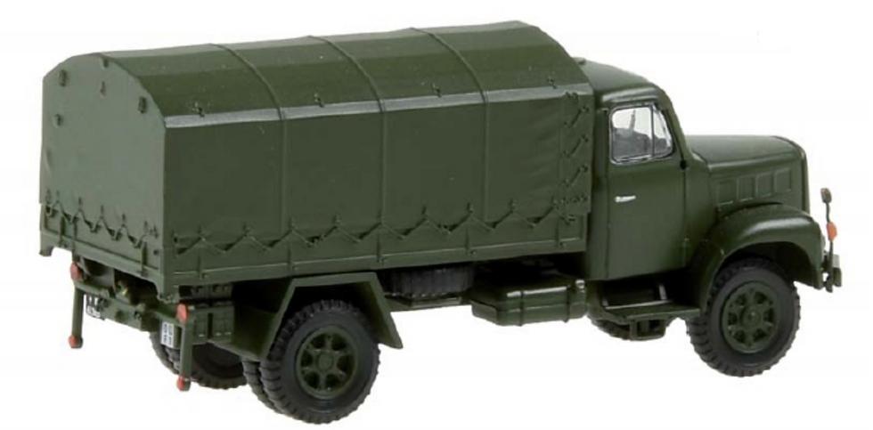 ACE collectors edition Saurer 2DM Militärlastwagen Plane en Plastique 1:87