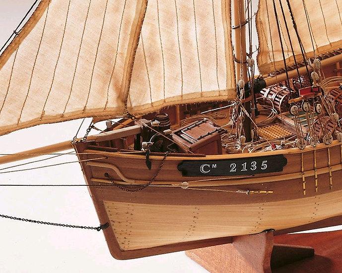 Maquette de bateau LE CAMARET de CONSTRUCTO 80825