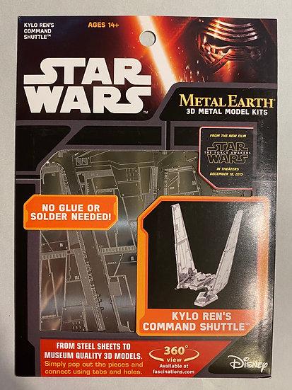 Metal Earth Star Wars Kylo ren's command shullte