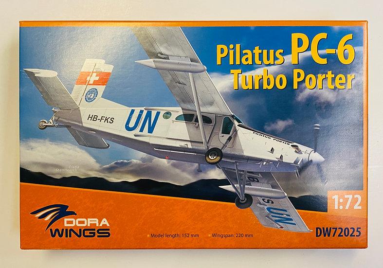 Dora Wings Pilatus PC-6 Turbo Porter 1/72