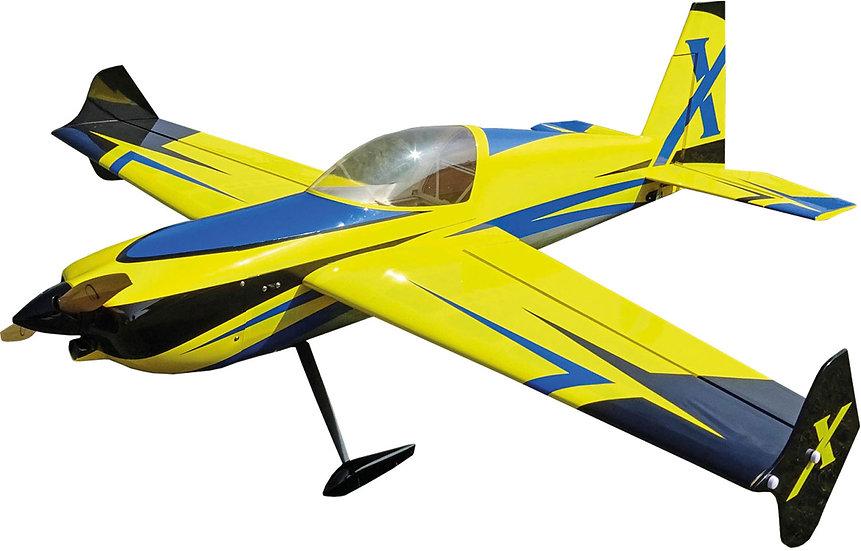 "Extreme Flight  SLICK 580 52""  jaune / bleu ARF"