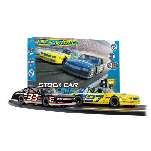 Scalextric Car Challenge 2x Chevy Monte Carlo 1:32