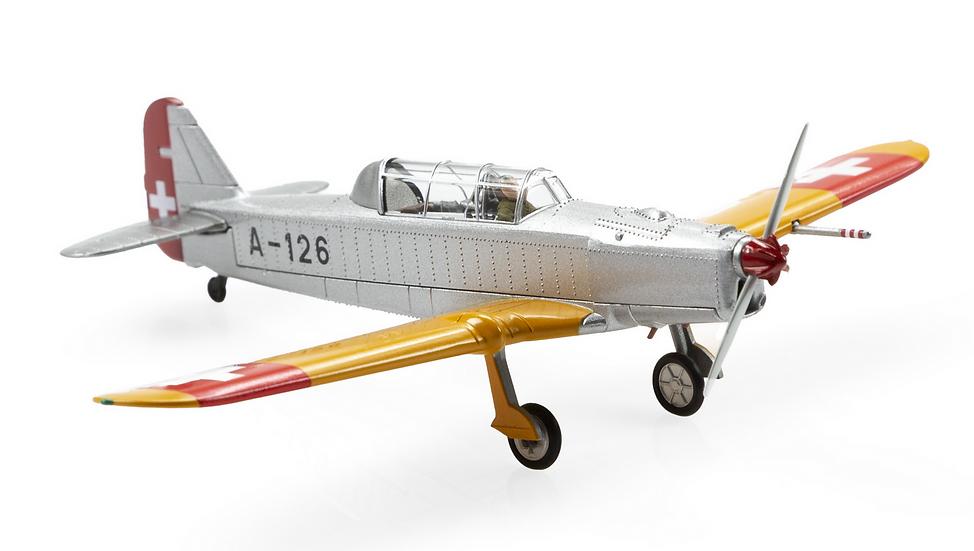 ACE collectors edition Pilatus P-2-05 U-126 (1949) Métal 1:72