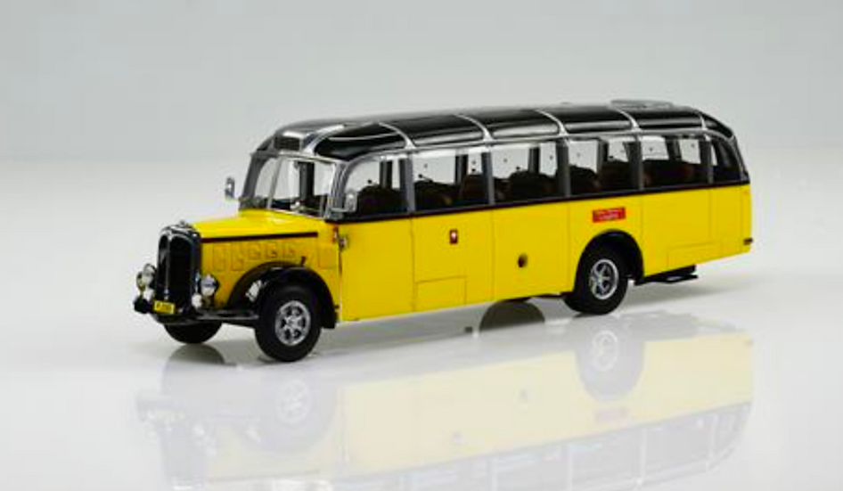 ACE collectors edition Saurer L4C-Alpenwagen IIIa (1952) en Résine 1:43