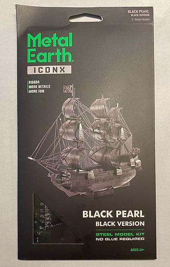 Metal Earth Black Pearl (black version)