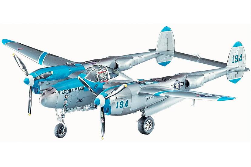 Hasegawa P-38J Lightning 'Virgina Marie' 1/48
