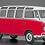 Hasegawa Volkswagen Type 2 Micro Bus (1963) '23-Window' 1/24