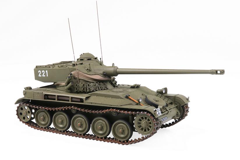 ACE collectors edition L Pz 51 - AMX-13 Turmnummer 221 en Plastqiue 1:87