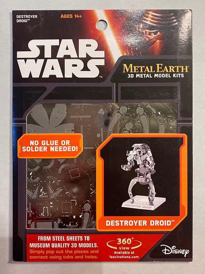 Metal Earth Star Wars Destroyer Droid
