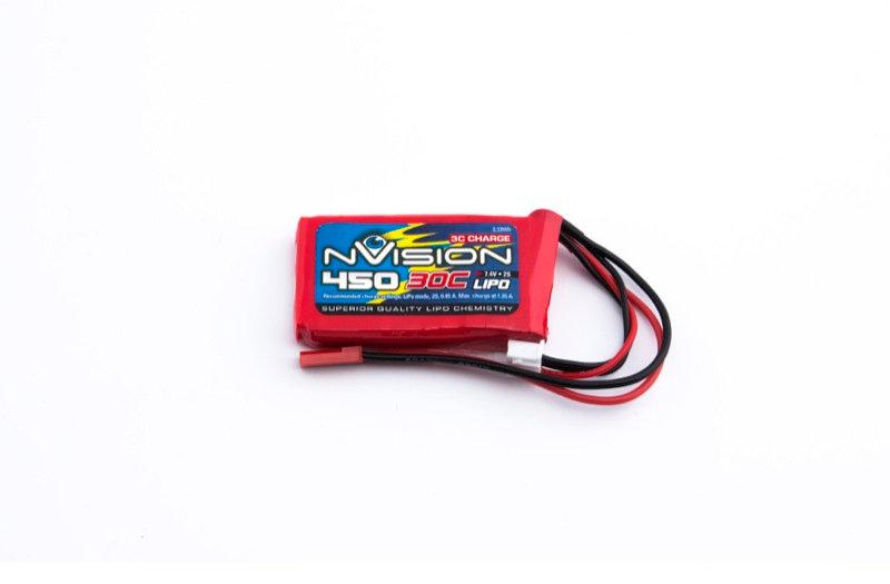 nVision LiPo 2s 7,4V 450 30C