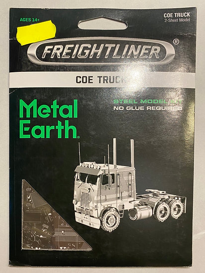 Metal Earth Coe Truck