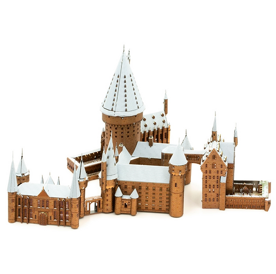 Metal Earth Harry Potter Hogwarts in Snow
