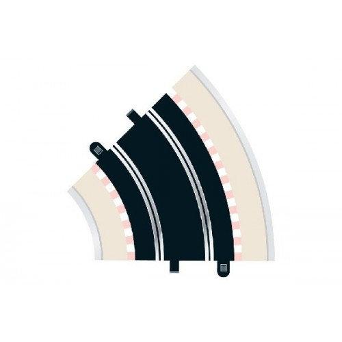 Scalextric Radius 2 Curve 45° 2x a
