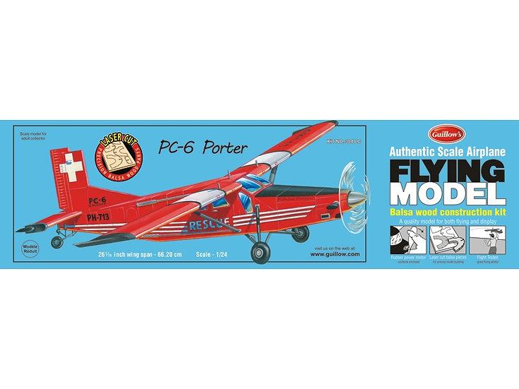 Guillow Pilatus PC-6 Porter