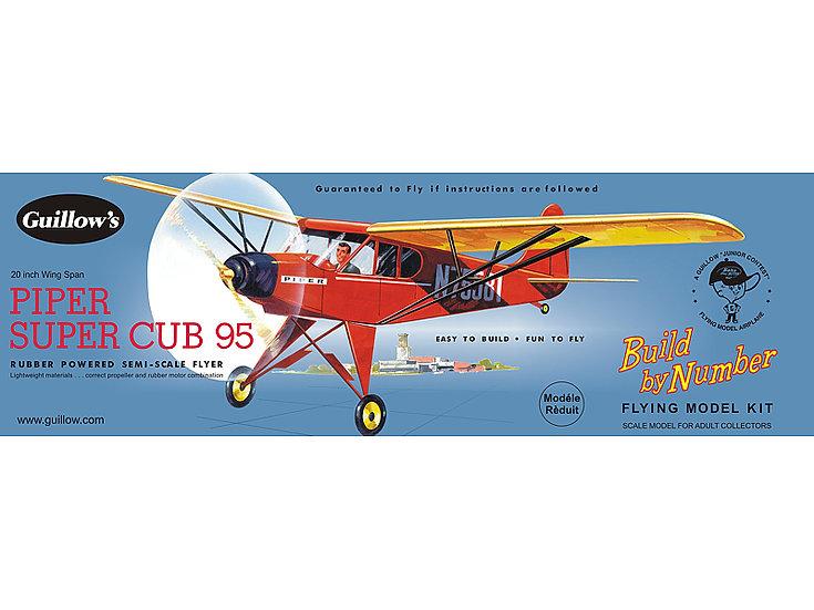 Guillow's Piper super cub 95