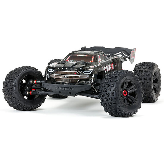 Arma 1/5 KRATON 4WD EXtreme Bash Roller, Black