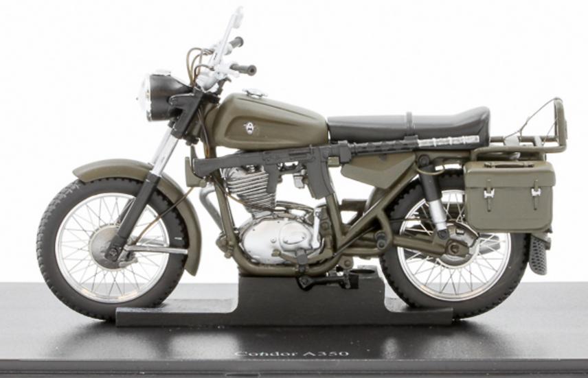 ACE collectors edition Motorrad Condor A 350 Schweizer Armee en Résine 1:18