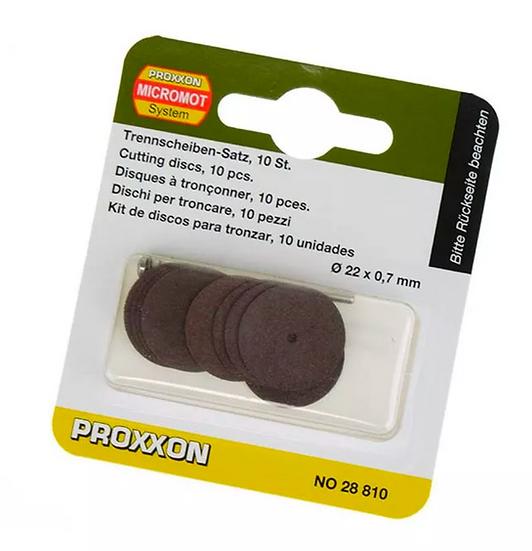 Proxxon Disque de tronçonner, 10 pces 22x0,7mm