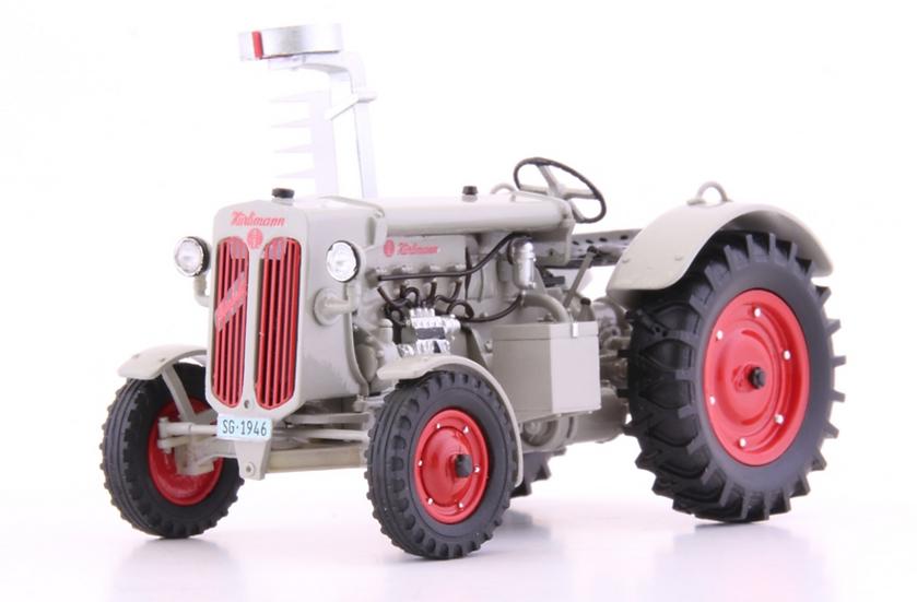 ACE collectors edition Hürlimann D200 mit Motoregge 1948 en Résine 1:32