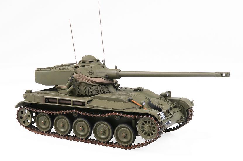 ACE collectors edition L Pz 51 - AMX-13 ohne Turmnummer en Plastqiue 1:87