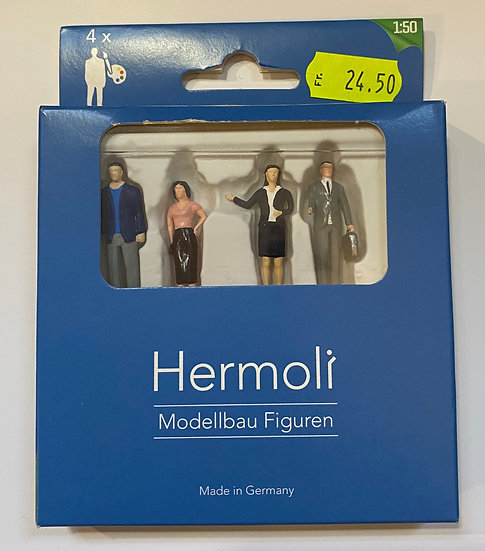 Hermoli Personnages debout 1:50 peint