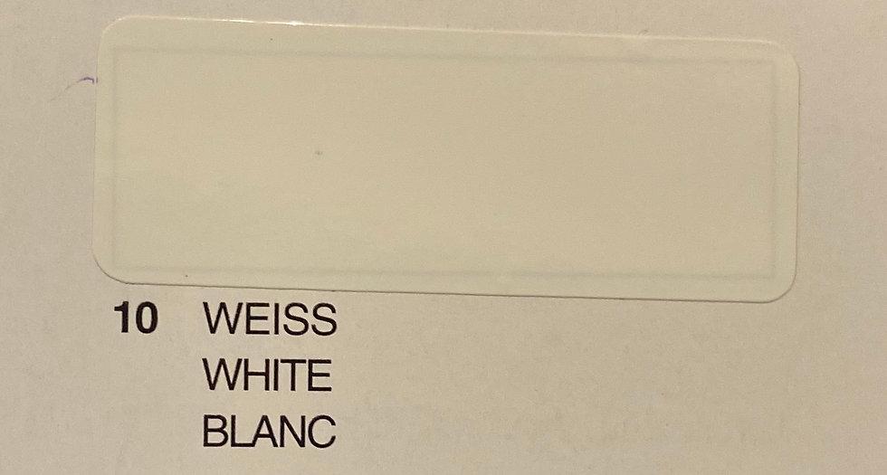 Oracover couleurs standard blanc 10