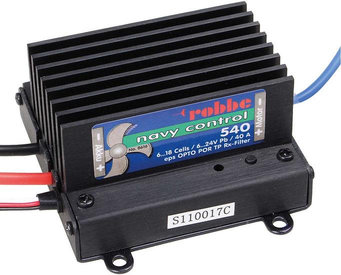 Robbe régulateur de vitesse pour bateaux NAVY CONTROL 540 R 8616