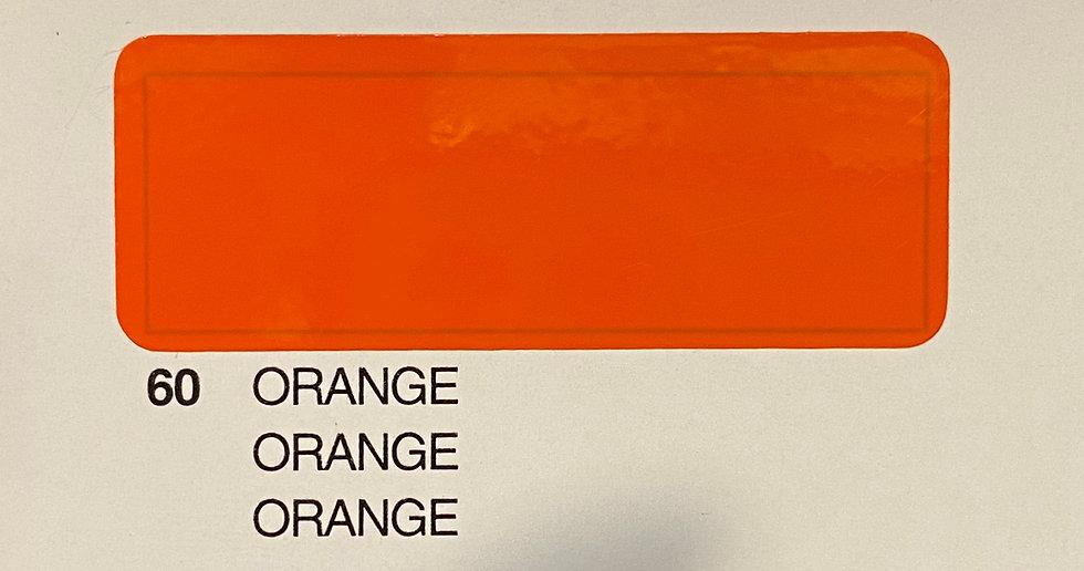 Oracover couleurs standard orange 60
