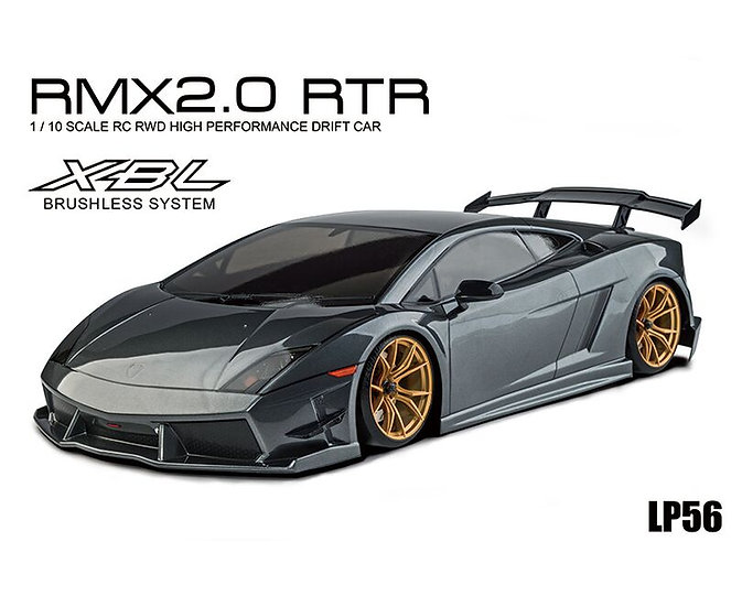 MST voiture drift RMX 2.0 1/10 2WD RTR Lamborghini (brushless) MST533719GR