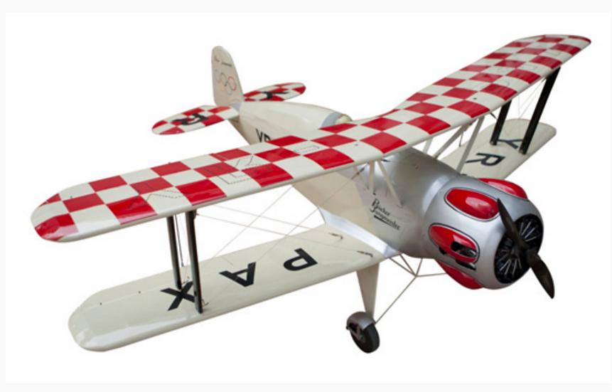 Avion Seagull Models BUCKER BÜ-133 ARF 1.63M SEAGULL