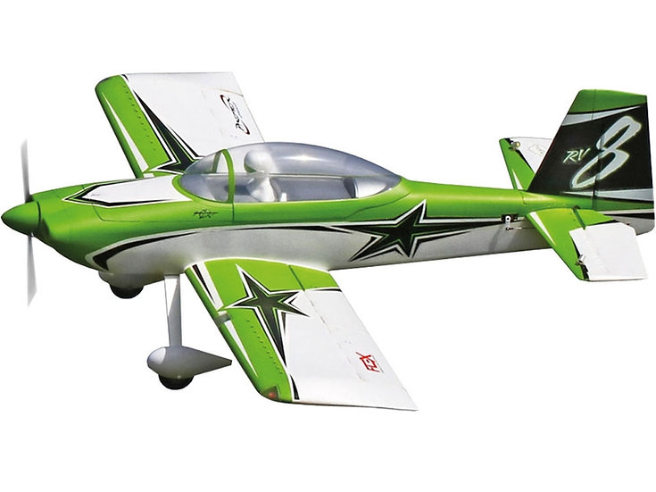 PREMIER AIRCRAFT RV-8 Super PNP vert avec Aura 8