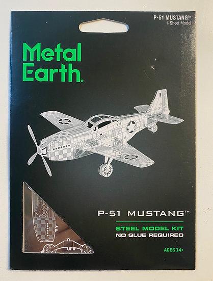 Metal Earth P-51 Mustang