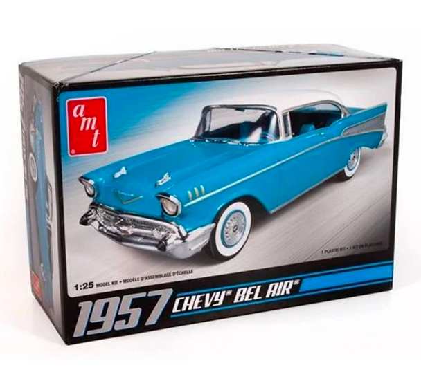 AMT 1/25 1957 Chevy Bel Air 638M/12